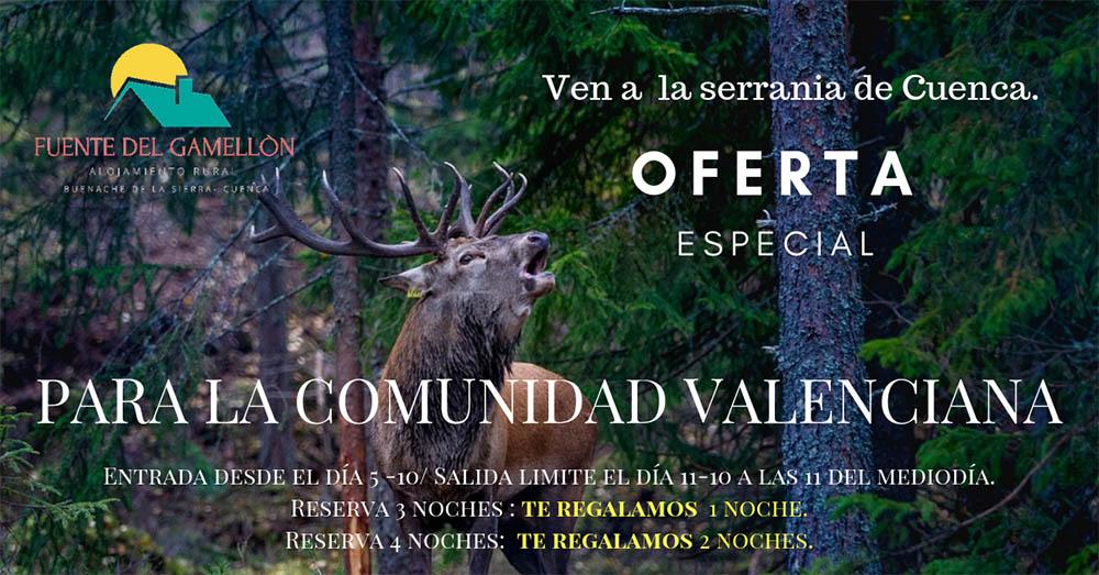 Oferta Comunidad Valenciana