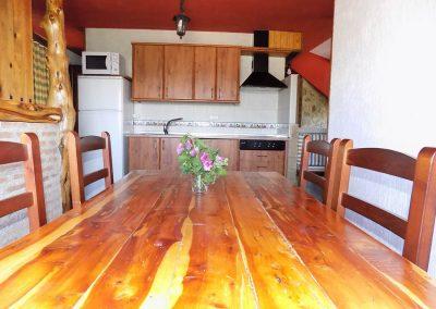 Vista cocina apartamento