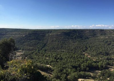 Vista desde zona alta de Buenache